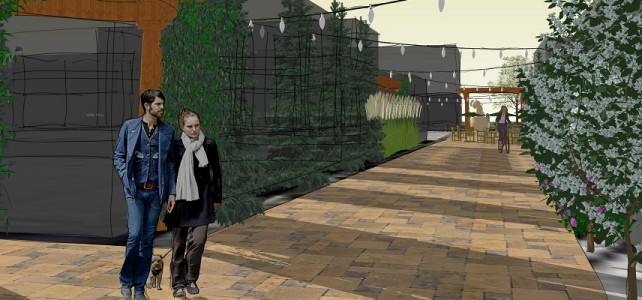 Midtown Detroit's Green Alley Project is Pilot Public Spaces Community Places Crowdfunding Effort!